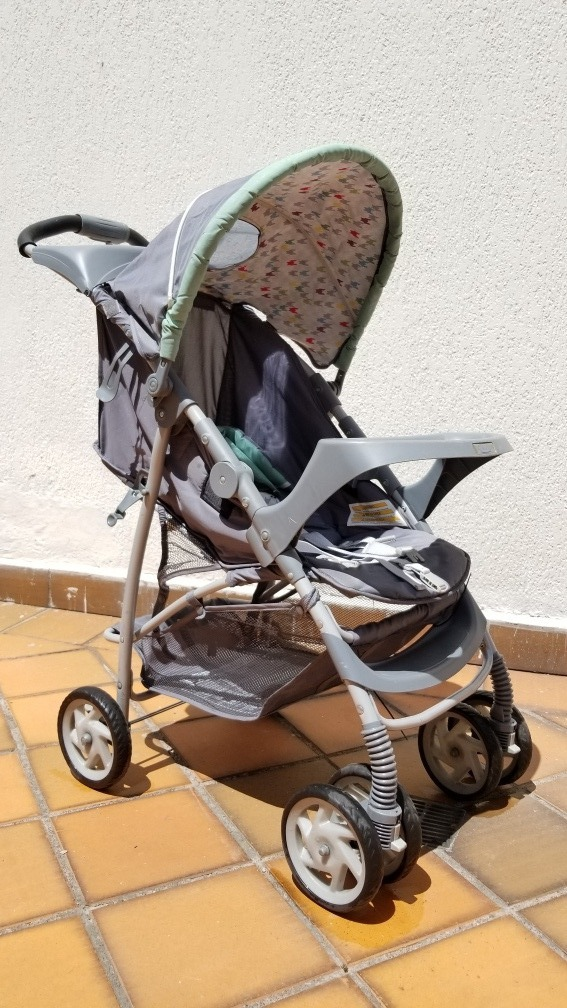668dc9b58 Carrito Para Bebés Graco En Perfecto Estado - U$S 100,00 en Mercado ...