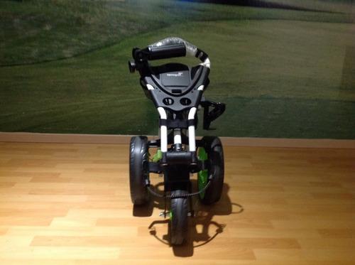 carrito para bolsa de golf tecnogolf portátil de aluminio.