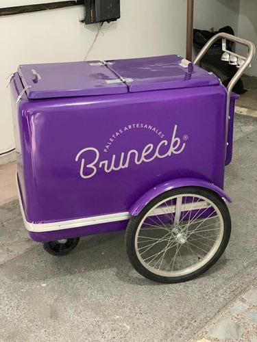 carrito para helados y paletas