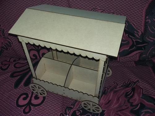 carrito para  mesa dulce- candy bar