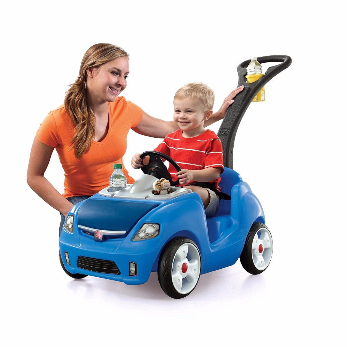 Carrito para ni os bebes pasear carro montable step 2 for Coches para 3 sillas infantiles