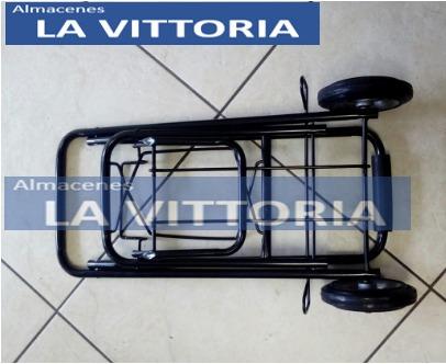 carrito para transportar el gas