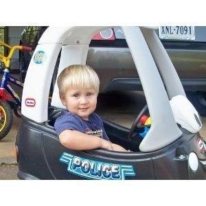 carrito patrulla policia cozy coupe litte tikes mn4