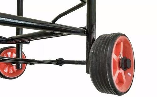 carrito plegable metal compras hasta 30 kg caballito
