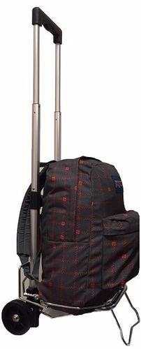 carrito porta mochila valija bolso plegable reforzado