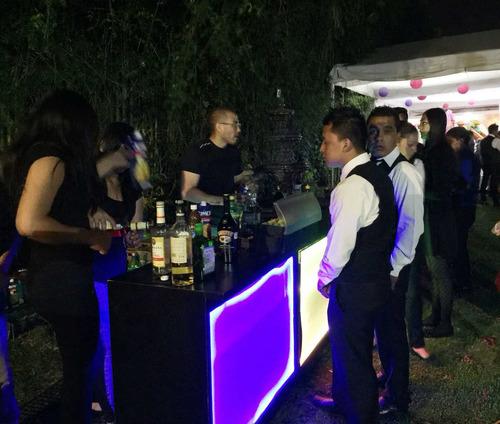 carrito shots bartender eventos privados cocteleria barman
