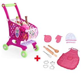 Supermercado Juguete Niñas Niños Compras Rosa Carrito ULpVGzqSM