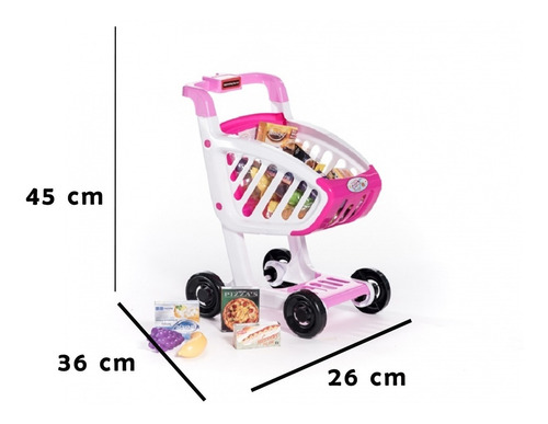 carrito supermercado juguetes