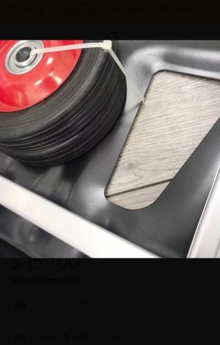 carritos de aluminio tipo yeguas soporte de hasta 100kl
