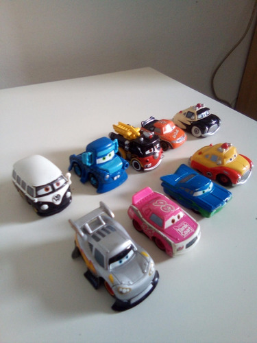 carritos de juguete coleccionables de cars. originales.