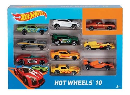 carritos de juguete hot wheels 10 carritos coleccionables