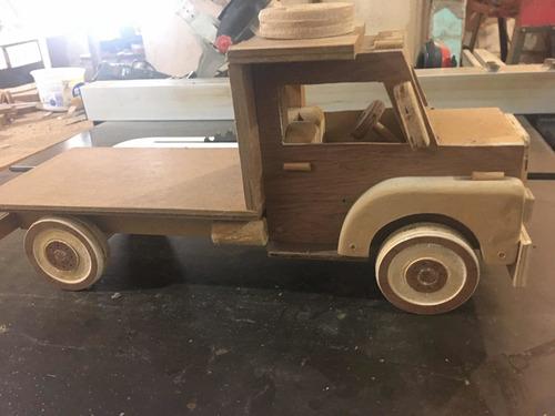 carritos de madera artesanales 10o% hechos a mano