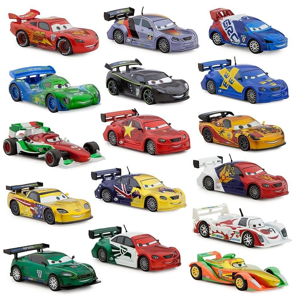 Carritos Disney Cars Pixar Set 16 Piezas