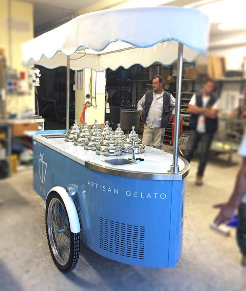 Carritos helado y paletas 35 en mercado libre for Carritos con ruedas para cocina