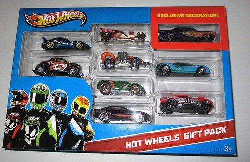 carritos hot wheels decoración exclusiva con 9 pza (15v)