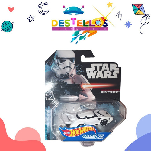 carritos hotweels edición star wars