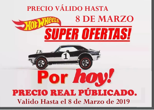 carritos hotwheels escala 1/32 hot weels