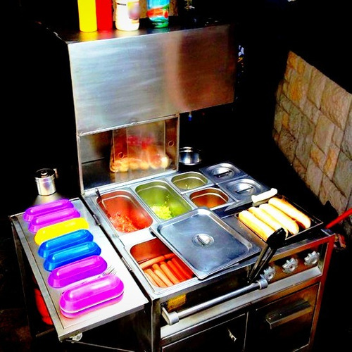 carritos para eventos [hot dog - hamburguesa - banquetera]