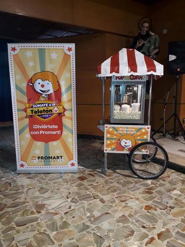 carritos snacks chamorro - popcorn , sandwichs , helados .