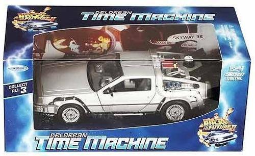carro 1/24  delorean  regreso al futuro  maquina del tiempo