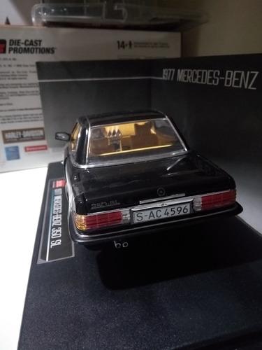 carro 1977 mercedes benz 350sl hard coup 1/18 sun star #4596
