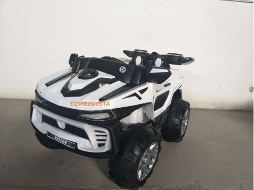 carro 4x4 montable 12v ,4 motores, usb,sd,luces led,1-7 año