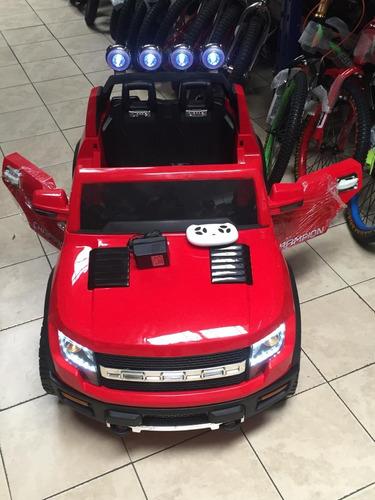 carro a batería para niños de 2 a  8 años control remoto