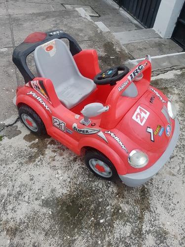 carro a batería para niños en buen estado