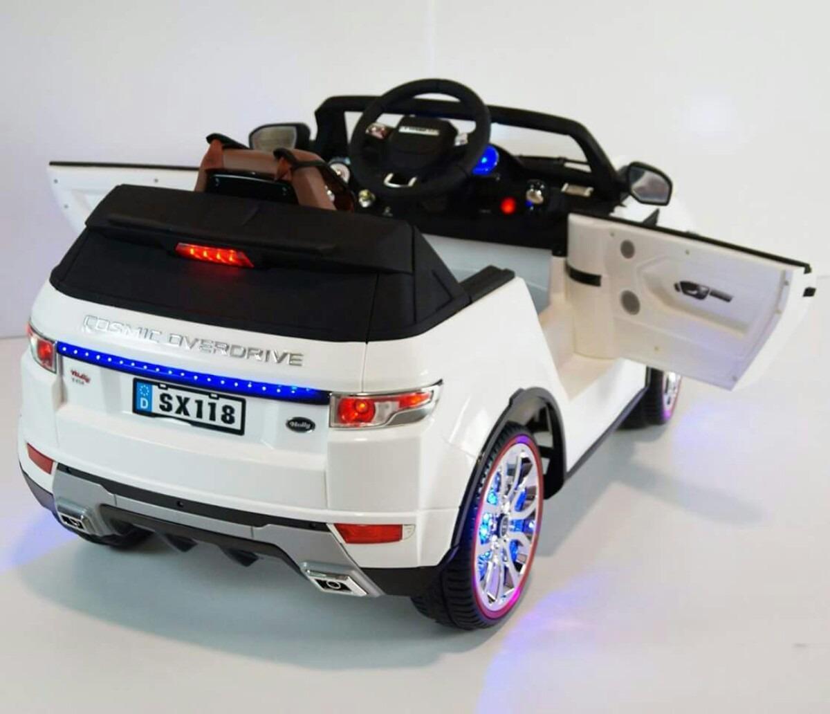 Carro A Bateria Para Ninos Juguetes Land Rover Control Remot S