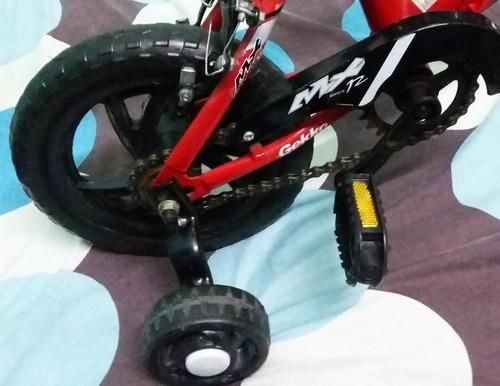 carro a bateria y bicicleta