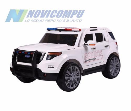 carro a batería y control remoto ford explorer policial