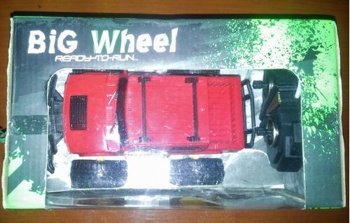 carro a control remoto big wheel 4x4