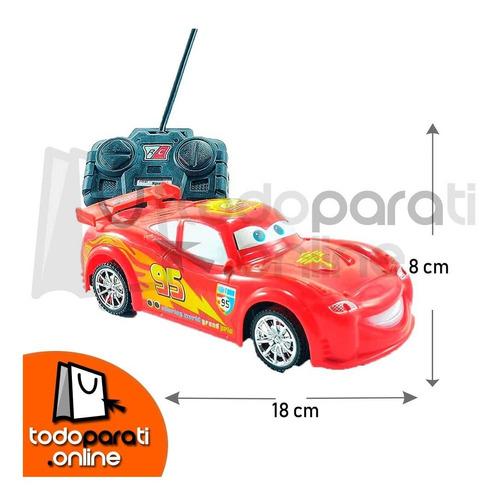 carro a control remoto cars rayo mcqueen juguete regalo
