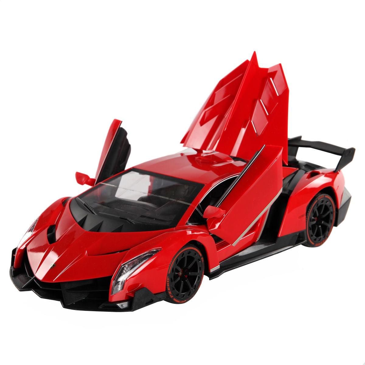 Carro A Control Remoto Lamborghini Veneno Con Apertura De
