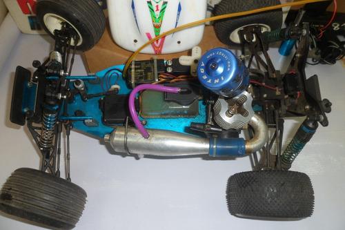 carro a control remoto nitro metano