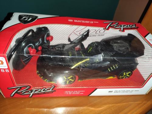 carro a control remoto rapid racing