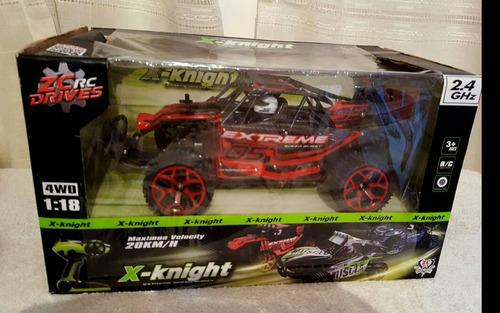 carro a control remoto x-knight todo terreno