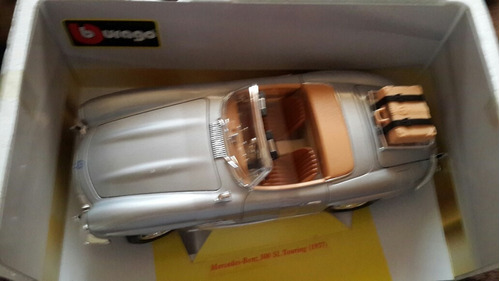 carro a escala 1:18 mercedes benz  300 sl touting 1957