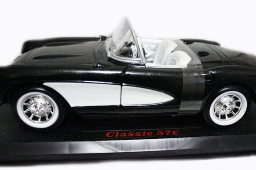 carro a escala antiguo  classic 57 original escala 1/18