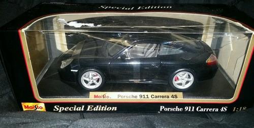 carro a escala maisto special ed 1:18 porsche 911 carrera 4s