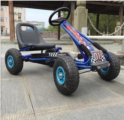 carro a pedal  niños  karting  f1 kart llantas  goma  abarth