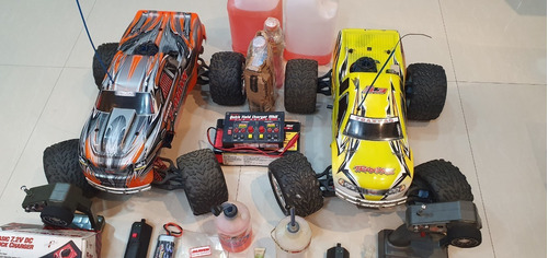 carro a radio control traxxas tmaxx 3.3 nitrometano-2 carros