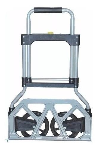 carro aluminio plegable 90 kilos zorra carretilla carrito