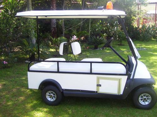carro ambulancia / carrito electrico - garantía 1 año