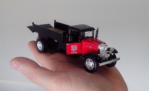 carro antigo ford truck bb 157 ano 1934 miniatura linda