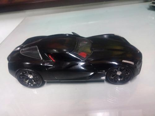 carro antiguo metalico de colección jada corvette 1/24