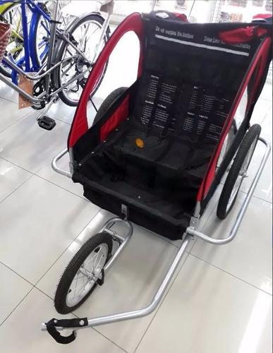 carro arrastre bicicleta,