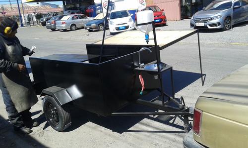 carro arrastre con tapa 2x1.50 nuevo