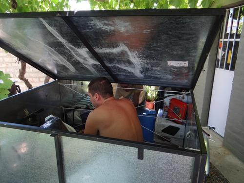 carro batan playo- box totalmente desarmable galvanizado
