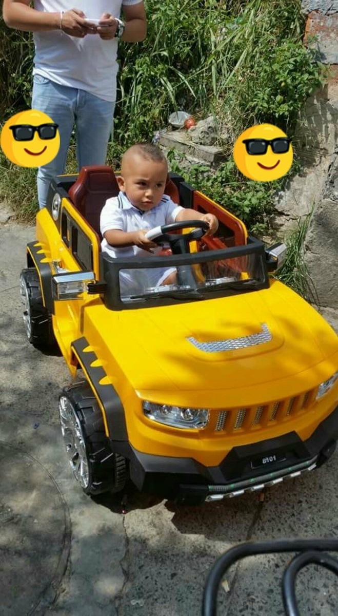 Niño Eléctrico Hummer Niña Carro Video Juguete Batería Bebe XZOTiuPk